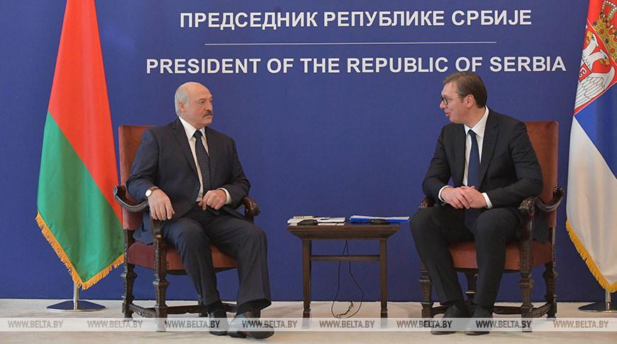Минск придает большое значение углублению братских отношенийс Белградом - Лукашенко