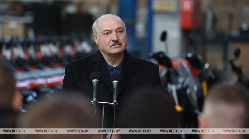 Лукашенко: необходимо защитить своего производителя велосипедов на нашем рынке