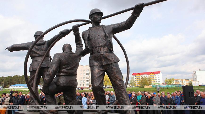 Памятный знак в честь ликвидаторов аварии на ЧАЭС. Фото из архива