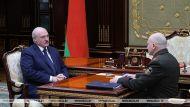 Александр Лукашенко и Иван Тертель
