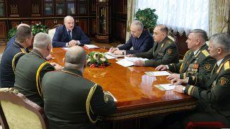 Александр Лукашенко принял кадровые решения о назначениях в силовых структурах