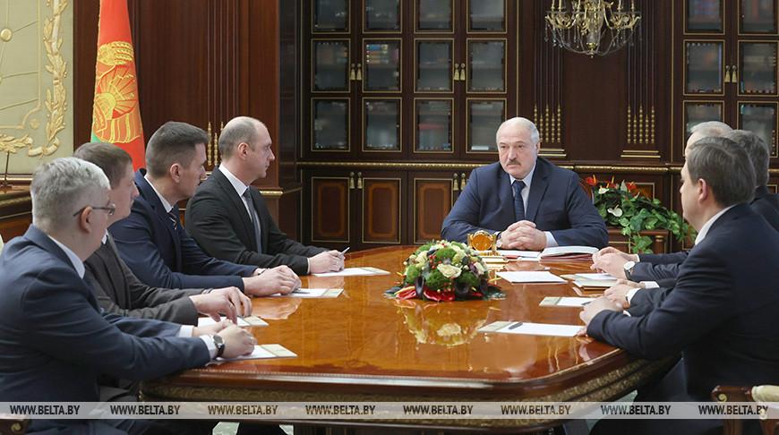 Александр Лукашенко принял кадровые решения