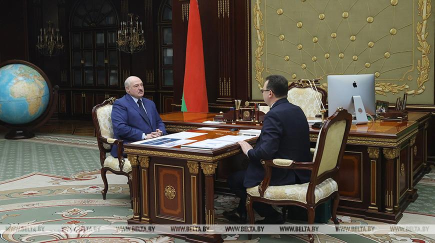 Александр Лукашенко и Дмитрий Пиневич