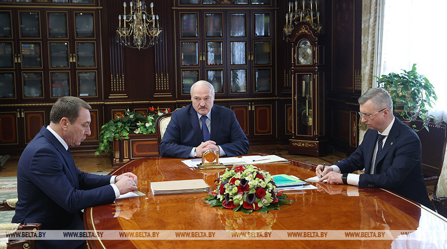Николай Снопков, Александр Лукашенко и Владимир Колтович
