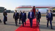 Александр Лукашенко прибыл в Азербайджан