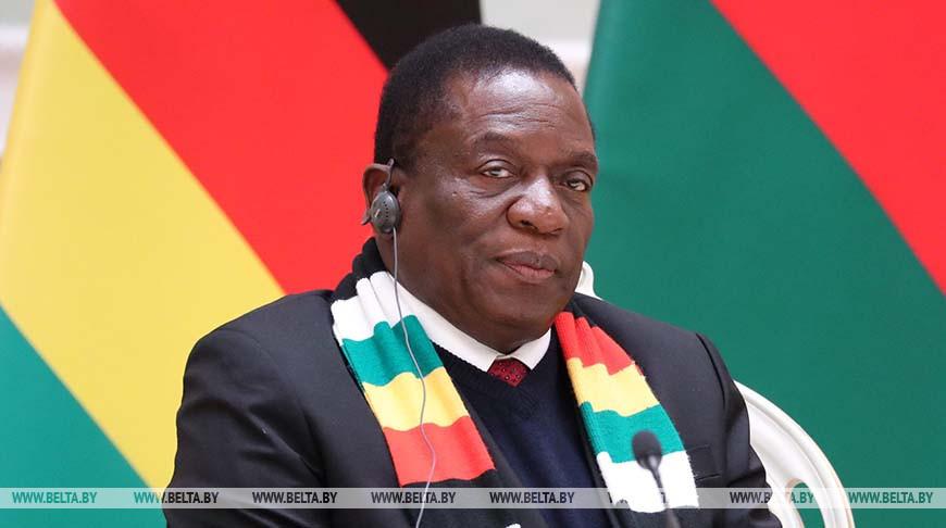 Президент Зимбабве Эммерсон Мнангагва. Фото из архива