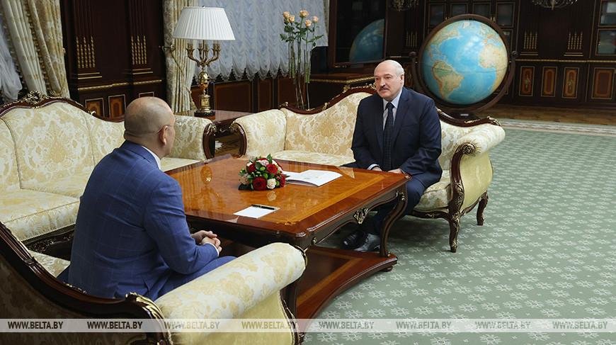 Евгений Шевченко и Александр Лукашенко