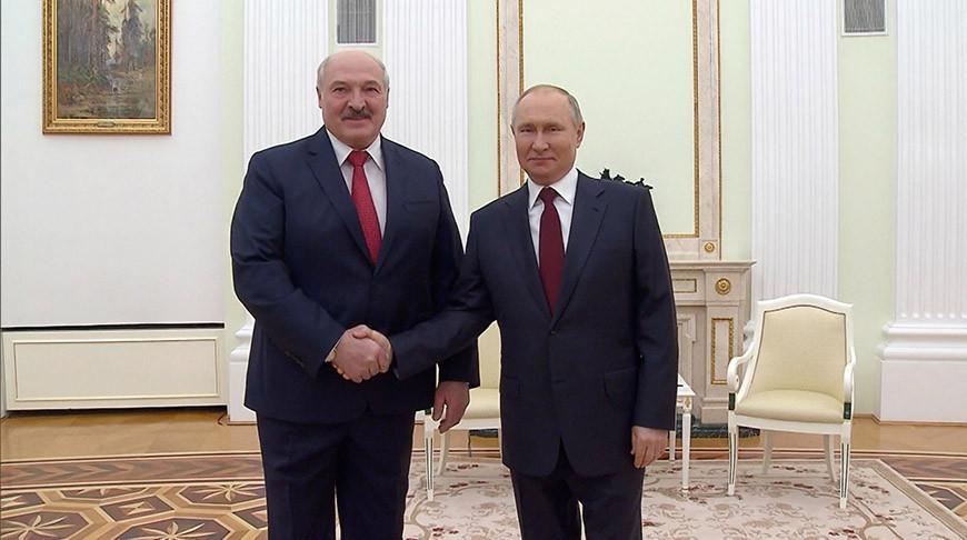 Лукашенко: Беларусь и Россия серьезно продвинулись в вопросе согласования союзных программ