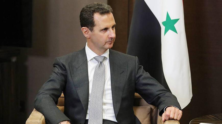 Башар Асад. Фото из архива ТАСС