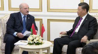 Александр Лукашенко и Си Цзиньпин. Фото из архива