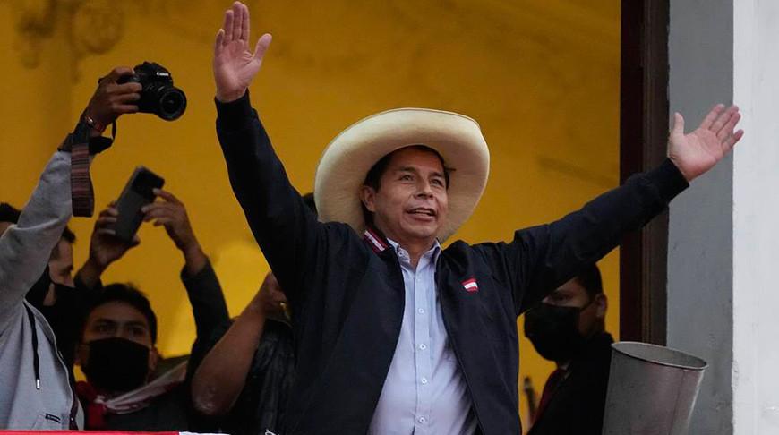 Педро Кастильо. Фото  Associated Press