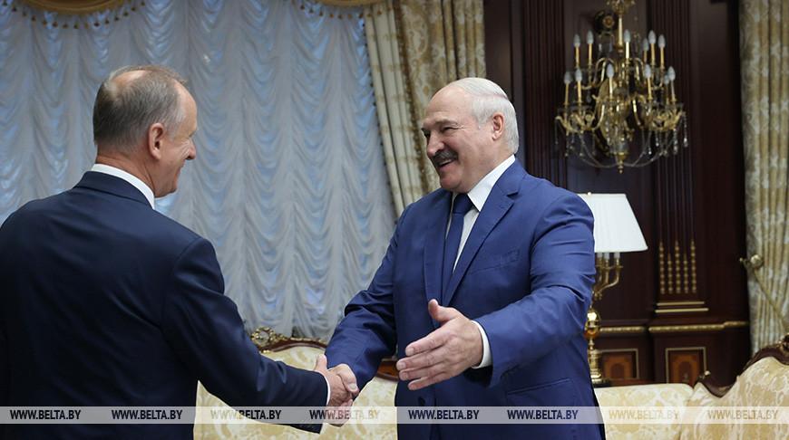 Николай Патрушев и Александр Лукашенко