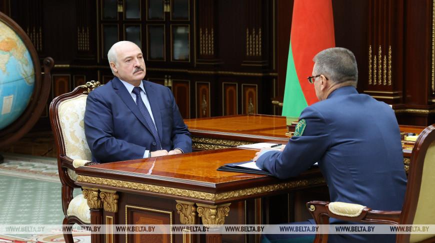 Александр Лукашенко и Владимир Орловский