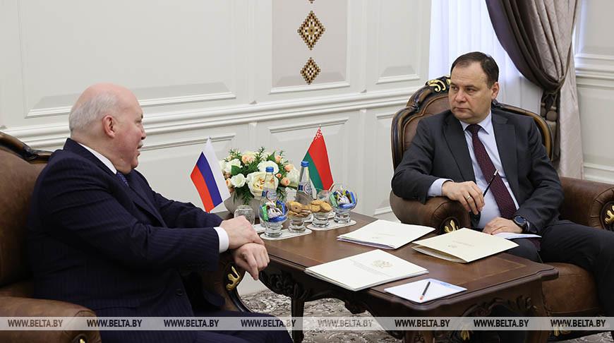 Дмитрий Мезенцев и Роман Головченко