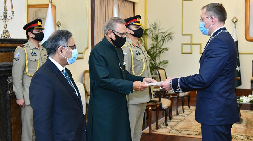 Фото пресс-службы Президента Пакистана