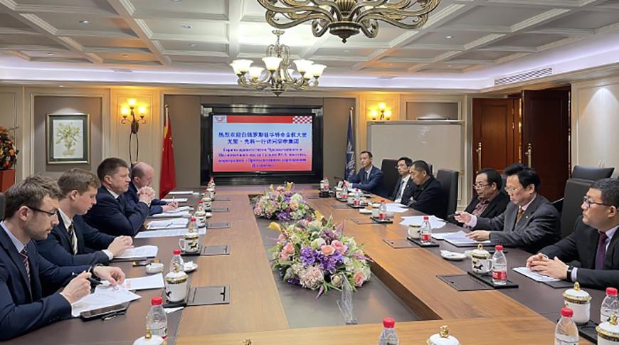 Фото посольства Беларуси в Пекине