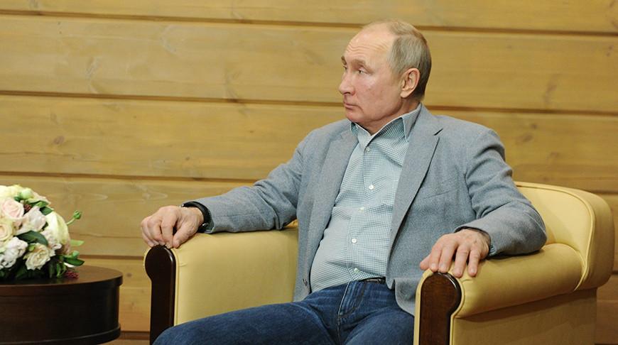 Владимир Путин. Фото пресс-службы Президента РФ - БЕЛТА