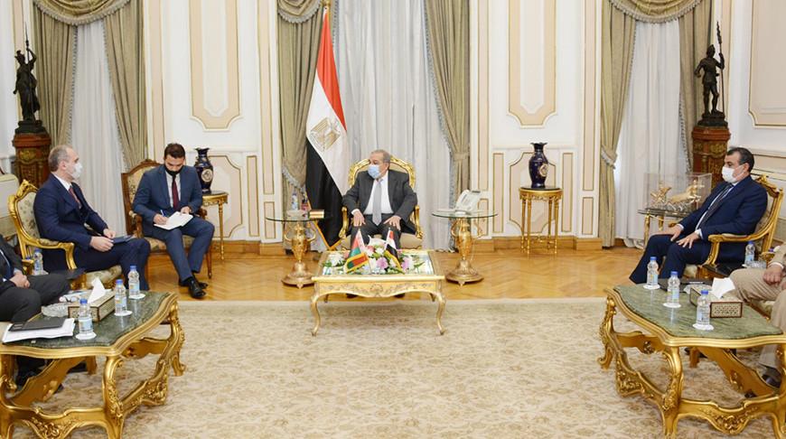 Во время встречи. Фото egypt.mfa.gov.by