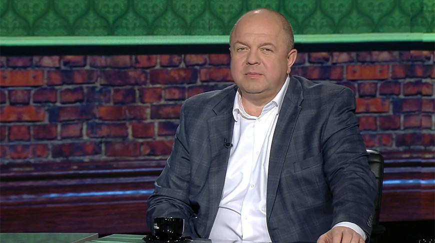 "Дмитрий Жук. Скриншот из видео ""Беларусь 1"""