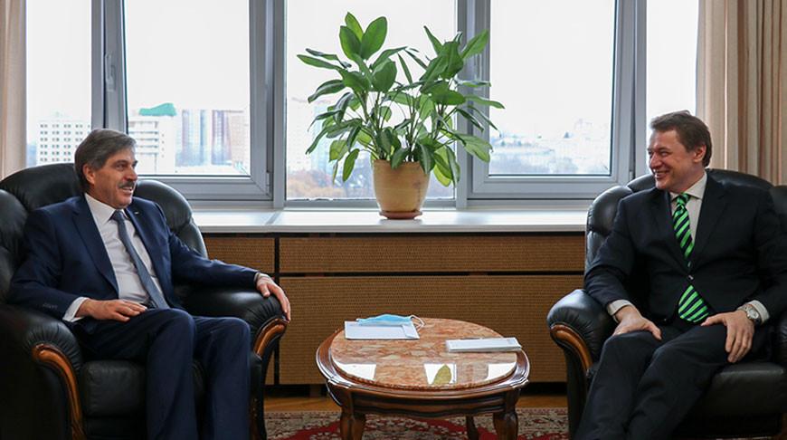 Беларусь и Палестина обсудили активизацию торгово-экономического сотрудничества