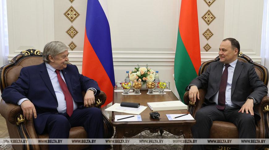Евгений Лукьянов и Роман Головченко