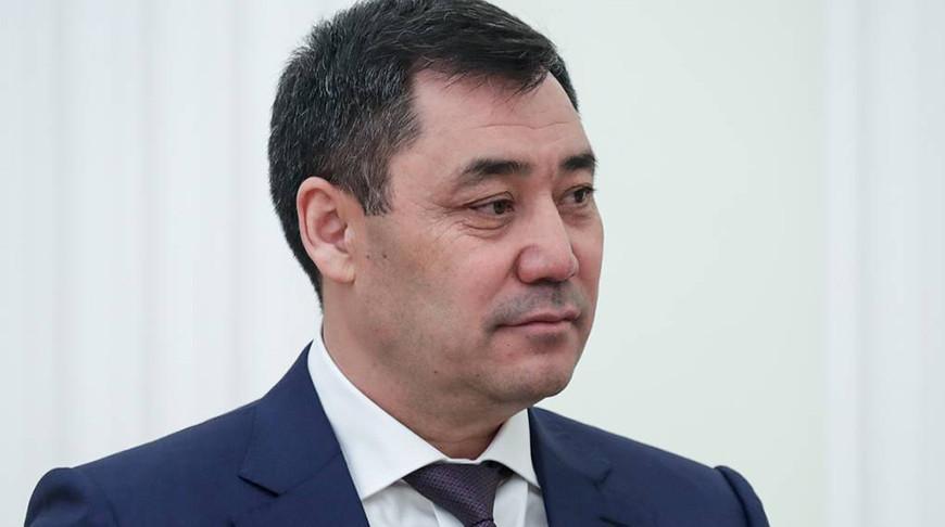 Садыр Жапаров. Фото ТАСС