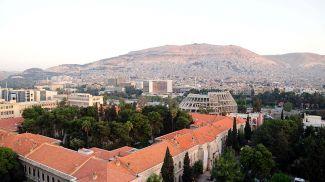 Сирийская столица Дамаск. Фото Синьхуа - БЕЛТА