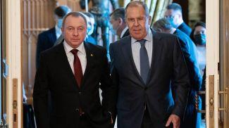 Владимир Макей и Сергей Лавров. Фото ТАСС