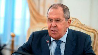 Сергей Лавров. Фото  РИА Новости