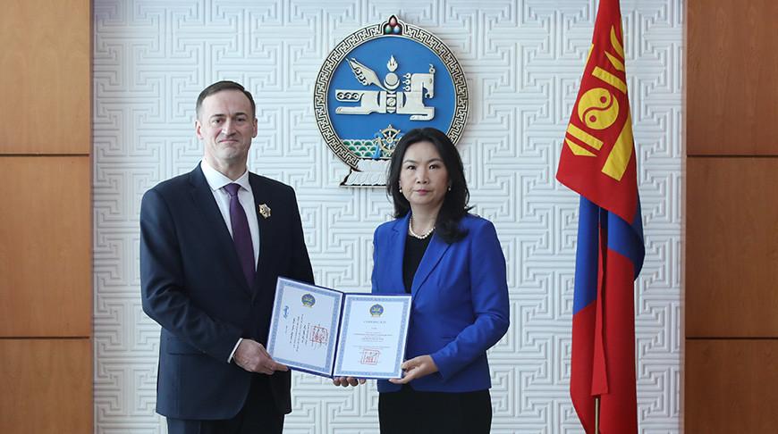 Фото посольства Беларуси в Монголии