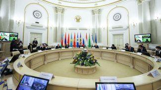 Заседание Совета постоянных полномочных представителей государств - участников СНГ