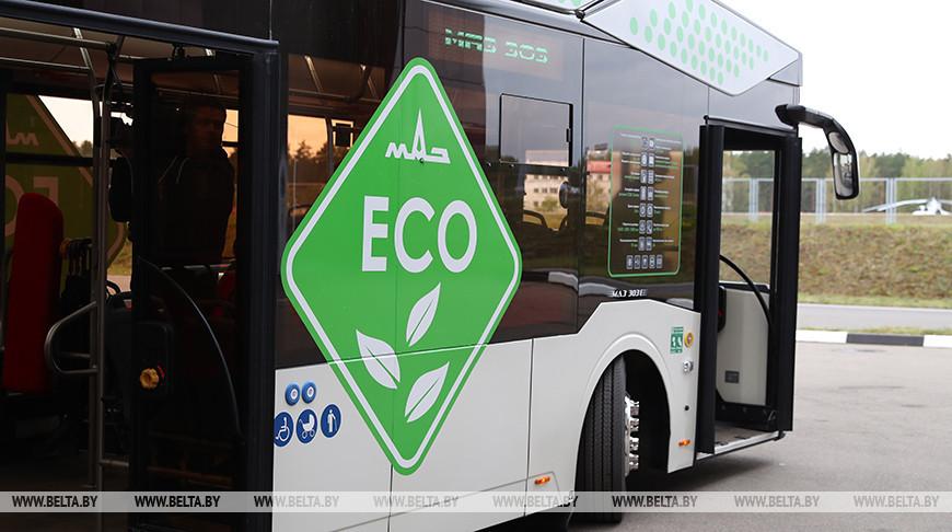 Минский автозавод представил в Киеве новый электробус.