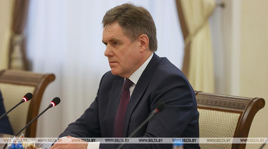 Игорь Петришенко во время встречи