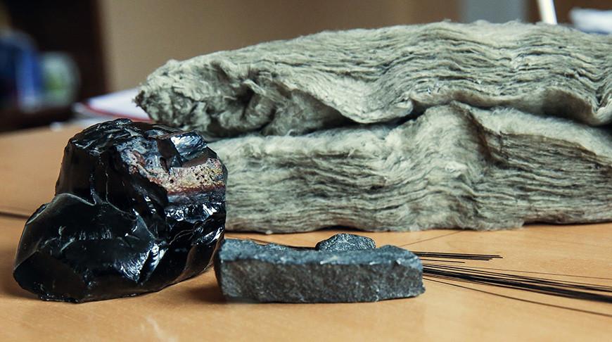 Базальт в физических формах от камня до продукции