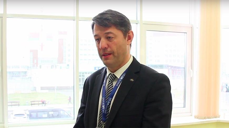 Дмитрий Чичикин. Скриншот из видео с Youtube-канала БелАЭС