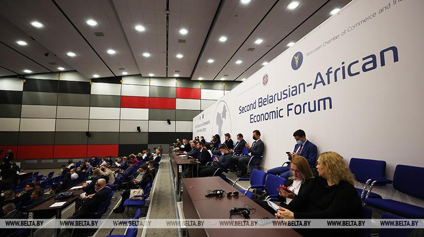 Более 170 белорусских компаний участвуют во втором Белорусско-Африканском экономическом форуме.
