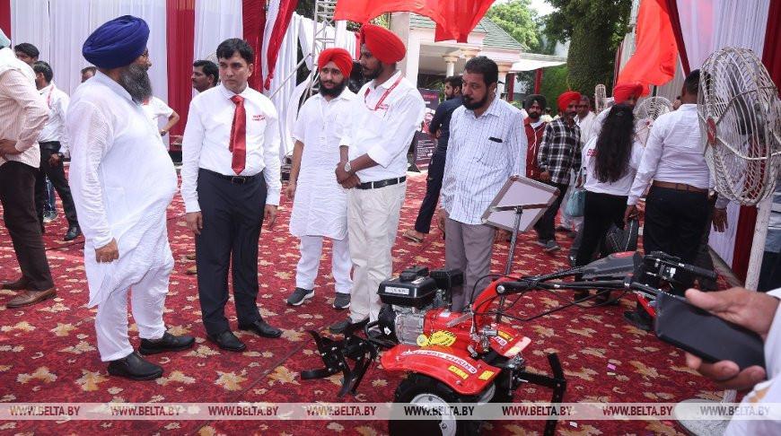Тракторы МТЗ презентовали в Индии