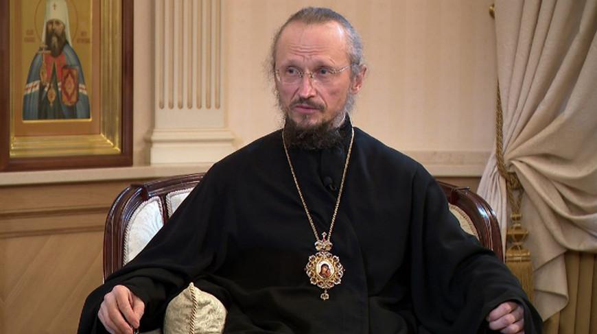 Митрополит Минский и Заславский Вениамин, Патриарший экзарх всея Беларуси. Фото ОНТ