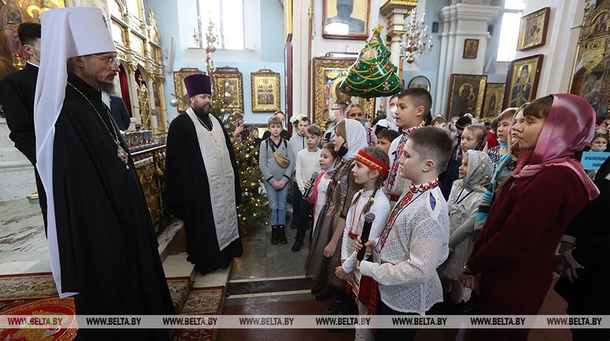 В Свято-Духовом кафедральном соборе