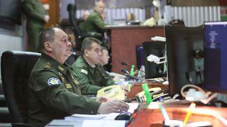 Командующий Военно-воздушными силами и войсками противовоздушной обороны Вооруженных Сил Беларуси генерал-майор Игорь Голуб