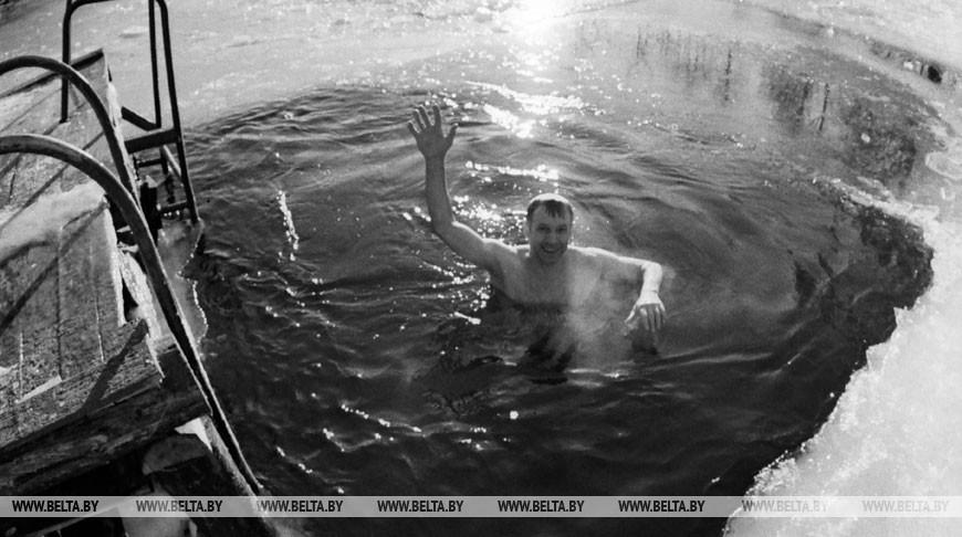 Комсомольское озеро. Минск, 1991 год