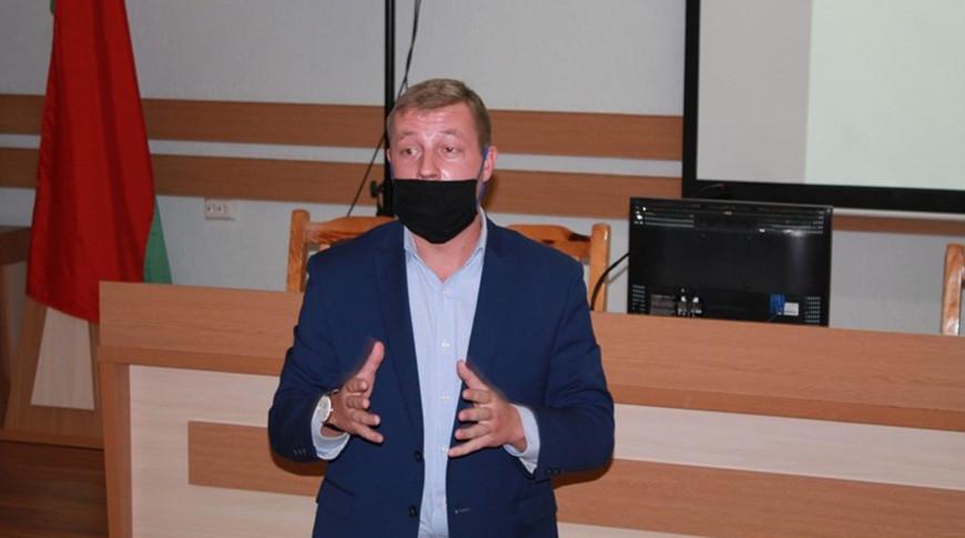 Кирилл Адамов. Фото Могилевского агролесотехнического колледжа