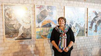 Израильская поэтесса, художница, автор детских книг Шошана Левит