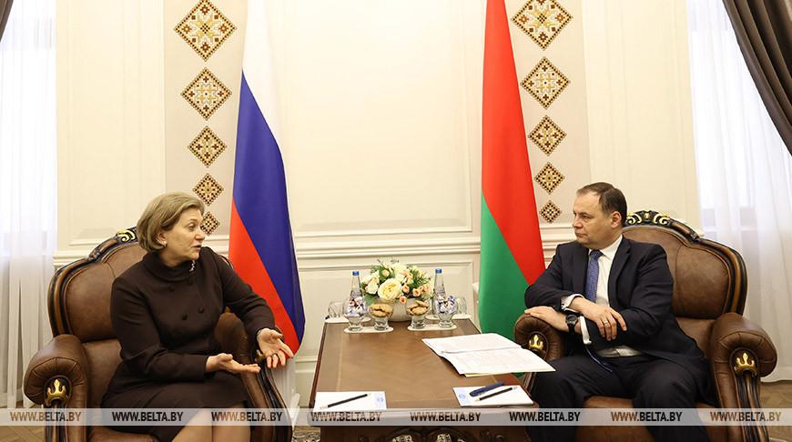 Анна Попова и Роман Головченко