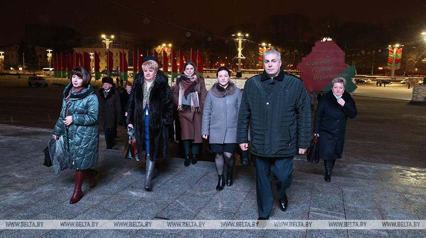 Делегаты прибывают на VI Всебелорусское народное собрание
