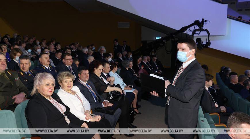 Во время VI Всебелорусского народного собрания