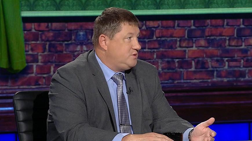 "Алексей Беляев. Скриншот видео ""Беларусь 1"""