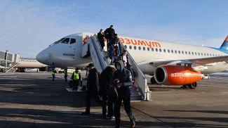 Рейс из Ростов-на-Дону прибыл в Минск