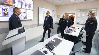 Во время посещения Академии МВД