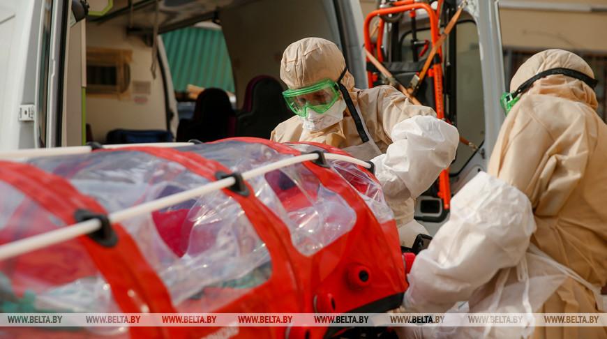 За сутки в Беларуси зарегистрированы 869 пациентов с COVID-19, выписаны 788